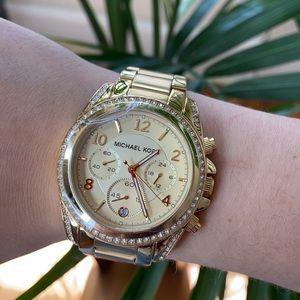 Brand New Gold and Diamond Micheal Kors Watch